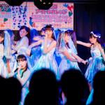ウェディング衣装でのライブ!! アイドルカレッジ「トゥルーエンド プレイヤー」発売記念予約インストアイベント