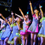 新メンバーを加えたアイドルカレッジが新年一発目から弾けるライブを披露