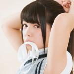 ポニーテールの女の子──がモチーフの写真モデルを音咲セリナ(Ange☆Reve)が担当