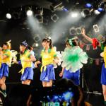 初のワンマンライブでサンバがテーマの新曲を初披露! ぷちぱすぽ☆らしく明るく楽しいライブを展開!!