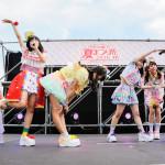 『アイドル横丁夏まつり!!~2016~』での、天晴れ!原宿の初ステージを紹介