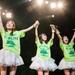 緑に染まる赤坂BLITZ。5thワンマンライブを終えて、さらに高みを目指すエルフロートに注目