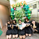 大好きなアイドルの楽曲をたっぷりカバー! 緑一面の会場も印象的な、Chu☆Oh!Dolly 眞城ゆうかバースデーライブ