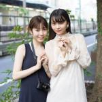 X21の新曲「デスティニー」のチェンジジャケットをアイドルカメラ部メンバーが撮影!