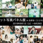 「つりビット写真パネル展 in 吉祥寺(ココマルシアター)」開催!